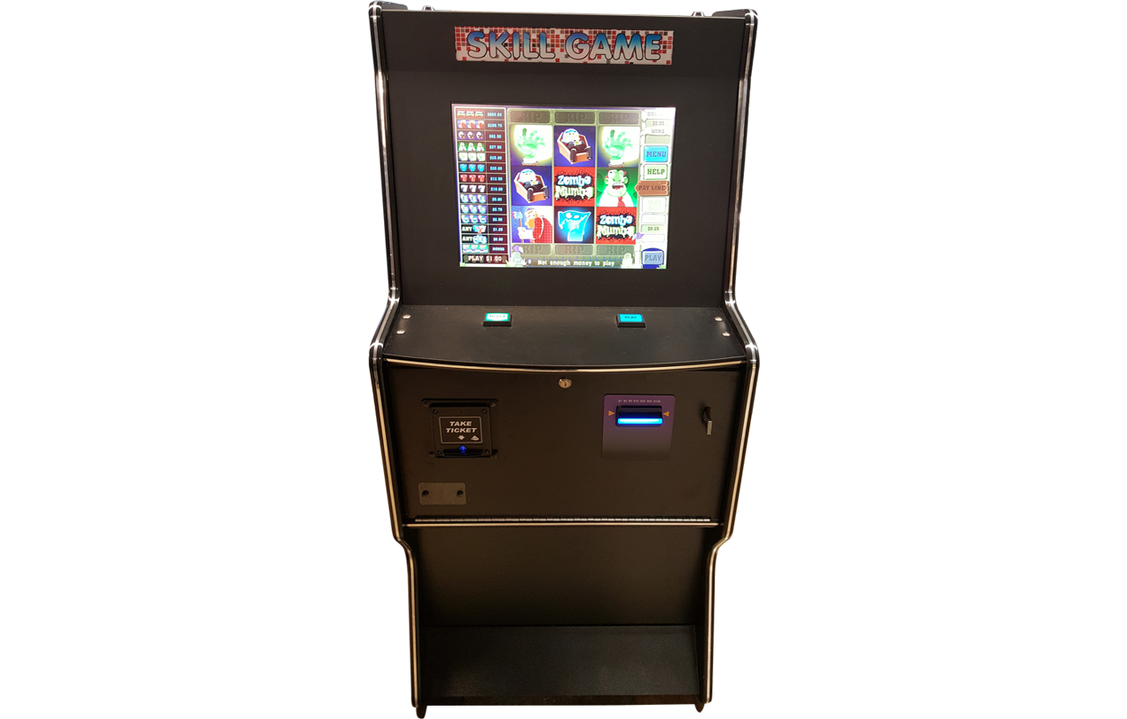 Skill Games Machine Cabinet 19 With Game -